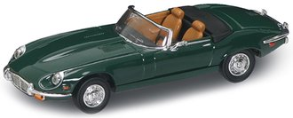 1:43 1971 Jaguar E-Type Convertible (Green)