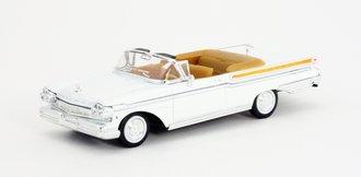 1:43 1957 Mercury Turnpike (White)