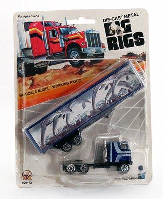 "Mack COE w/Tractor Trailer ""Clipper Exxpress"" (Blue)"