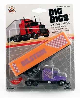 """Kenworth T600A w/Tractor Trailer """"Bilstein"""" (Purple/Orange)"""