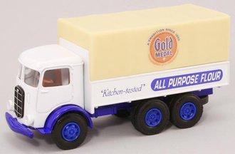 "Mack CJ Canvas-Back Truck ""Gold Medal Flour"""