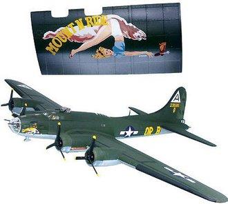 """B-17G-20 """"Mount N' Ride"""" w/Nose Art"""