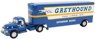 "Diamond T620 w/Moving Van Trailer ""Greyhound Lines"""