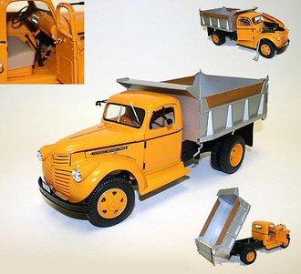 1946 GMC Dump Truck (Orange/Silver) *** VHTF ***