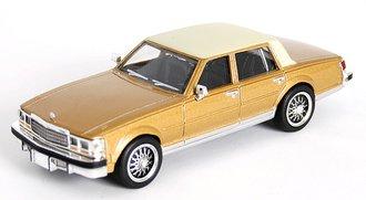1978 Cadillac Seville Sedan (Gold/Beige)