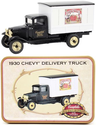 Campbell's 1930 Chevy Delivery (Black/White)