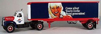 "1960 Mack B-61 w/Van Trailer ""Pepsi-Cola - Come Alive!"""