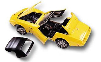 1975 Corvette Stingray (Yellow)