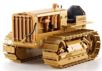 Caterpillar Twenty-Two Tractor Crawler w/Metal Tracks