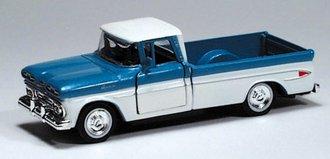 1961 Chevy Apache Pickup (Blue/White)