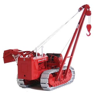 1:25 International TD-24 w/Superior Pipelayer Boom (Red)