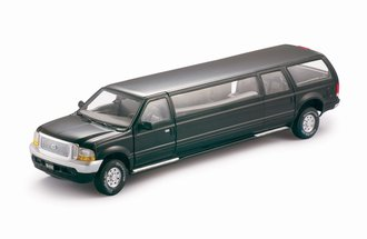 1:18 2004 Ford Excursion Limousine (Black)